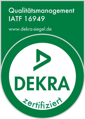 Qualitätsmanagement IATF 16949 Siegel